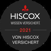 JTechPro ist mit Hiscox versichert